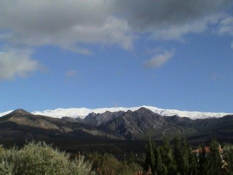 Pico del Veleta desde turismo rural Granada