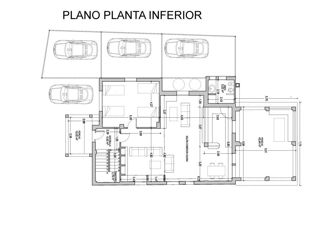 Planos de chalets de dos plantas interesting planos de - Plano de chalet ...