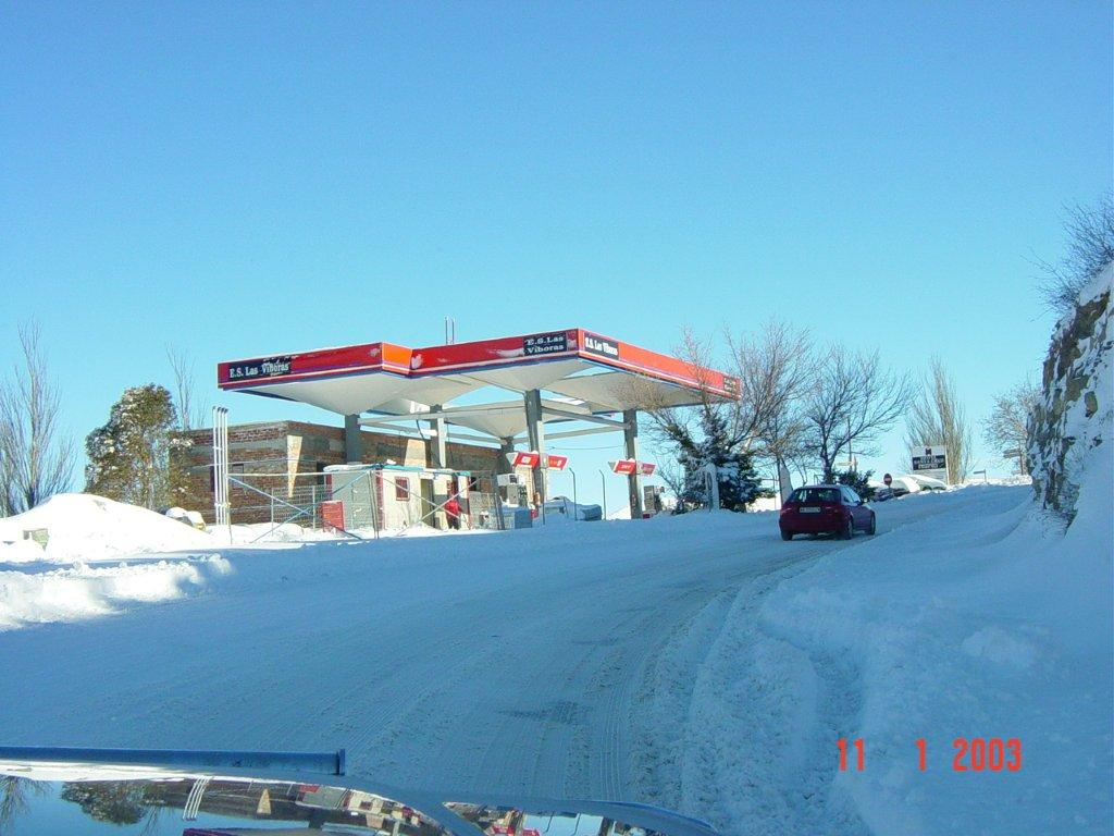 Gasolinera de la carretera de Sierra Nevada