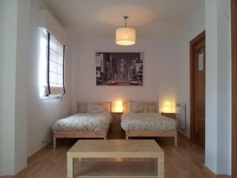 casa rural dormitorio para 4 personas