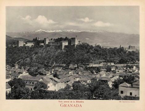 Alhambra y Granada en el siglo XIX